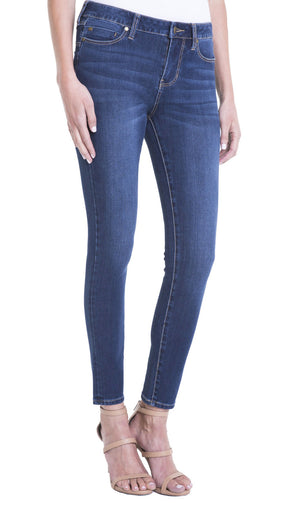 Liverpool Women's Piper Hugger Skinny Ankle Jeans Lynx Wash LM2098F14 [4; 4]