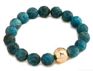 Gorjana Women's Apatite Inspiration Power Gemstone Statement Bracelet