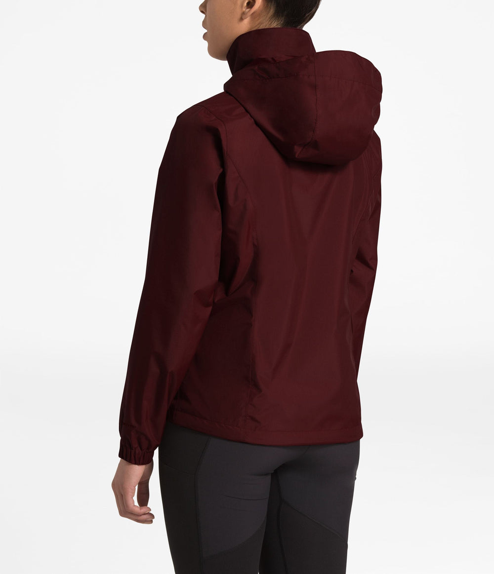 WOMEN'S RESOLVE 2 JACKET Deep Garnet Red