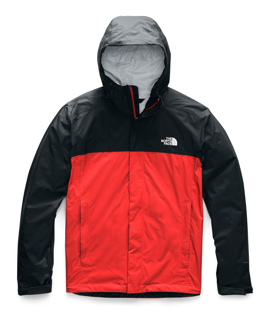MEN'S VENTURE 2 JACKET Fiery Red/TNF Black