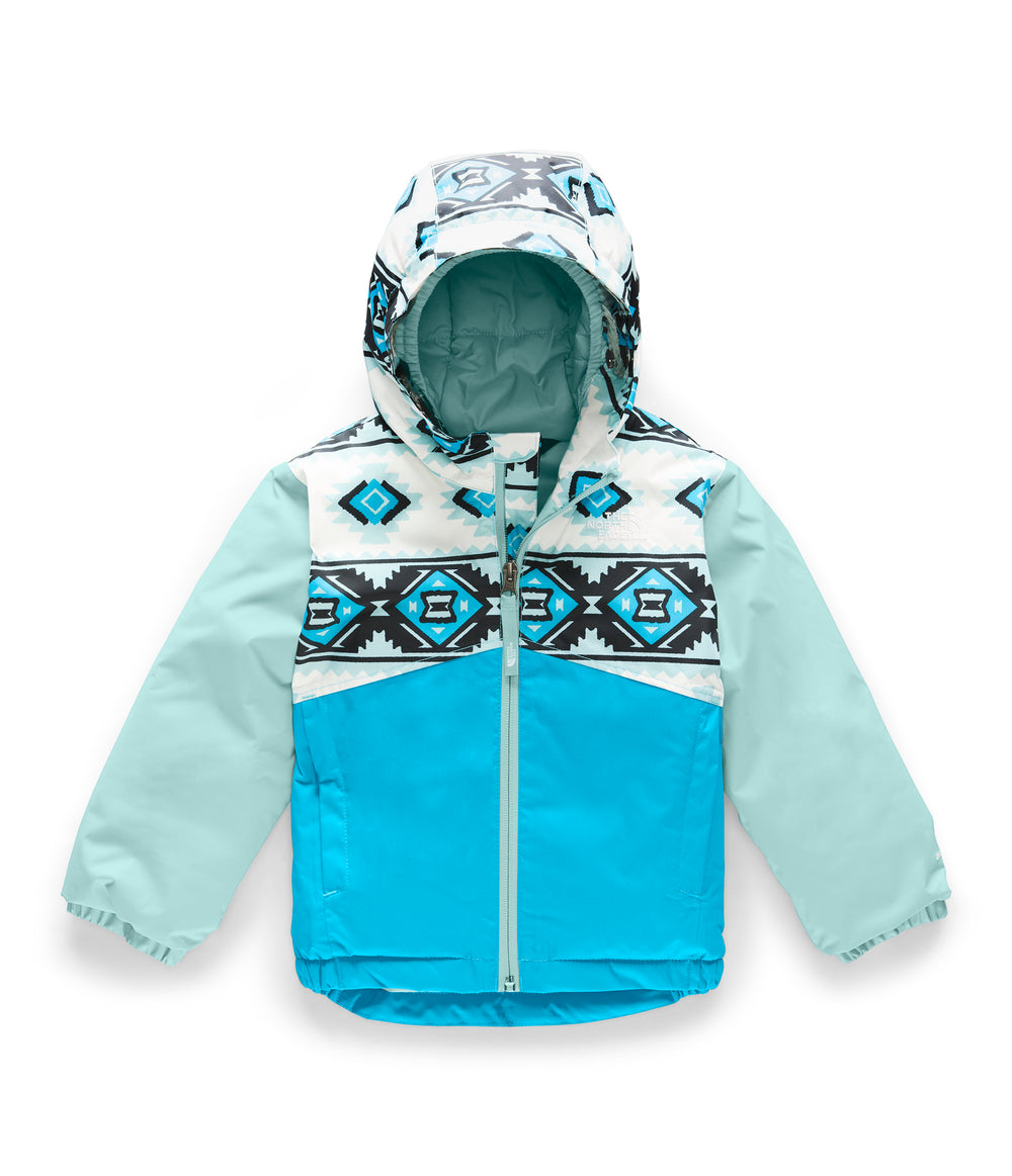 TODDLER SNOWQUEST INSULATED JACKET TNF White Tribal Geo Print