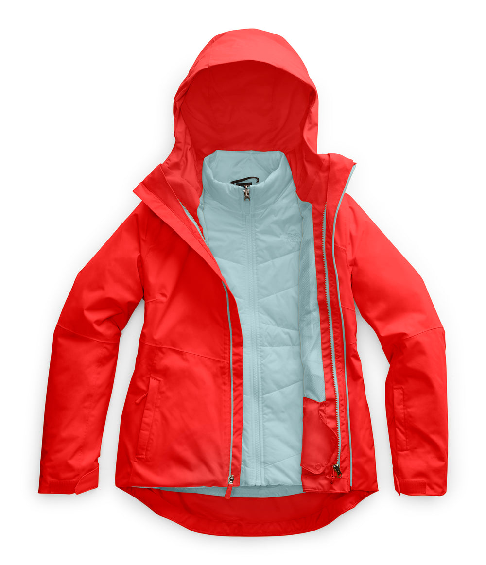 WOMEN'S CLEMENTINE TRICLIMATE JACKET Fiery Red