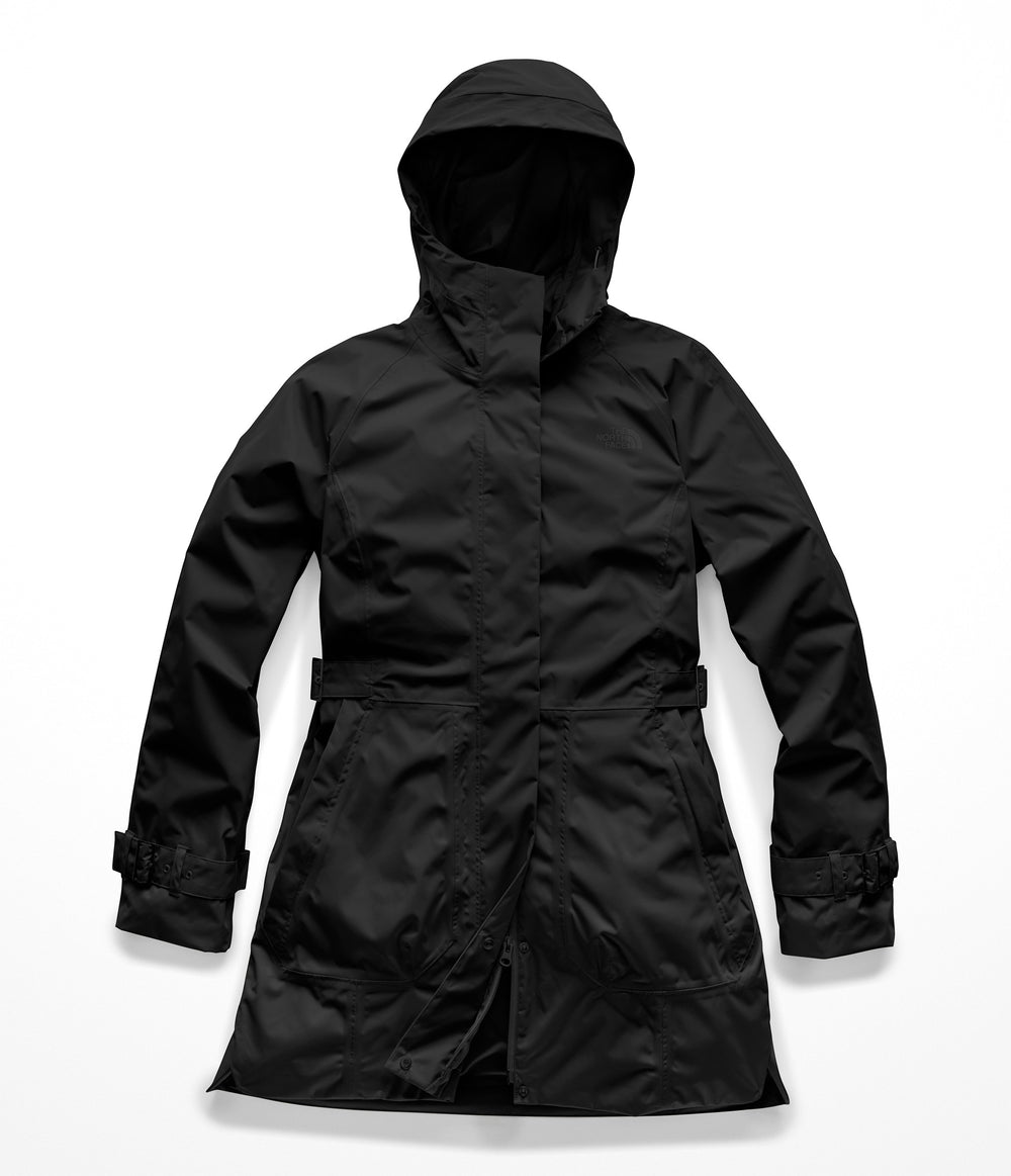 WOMEN'S CITY BREEZE RAIN TRENCH TNF Black