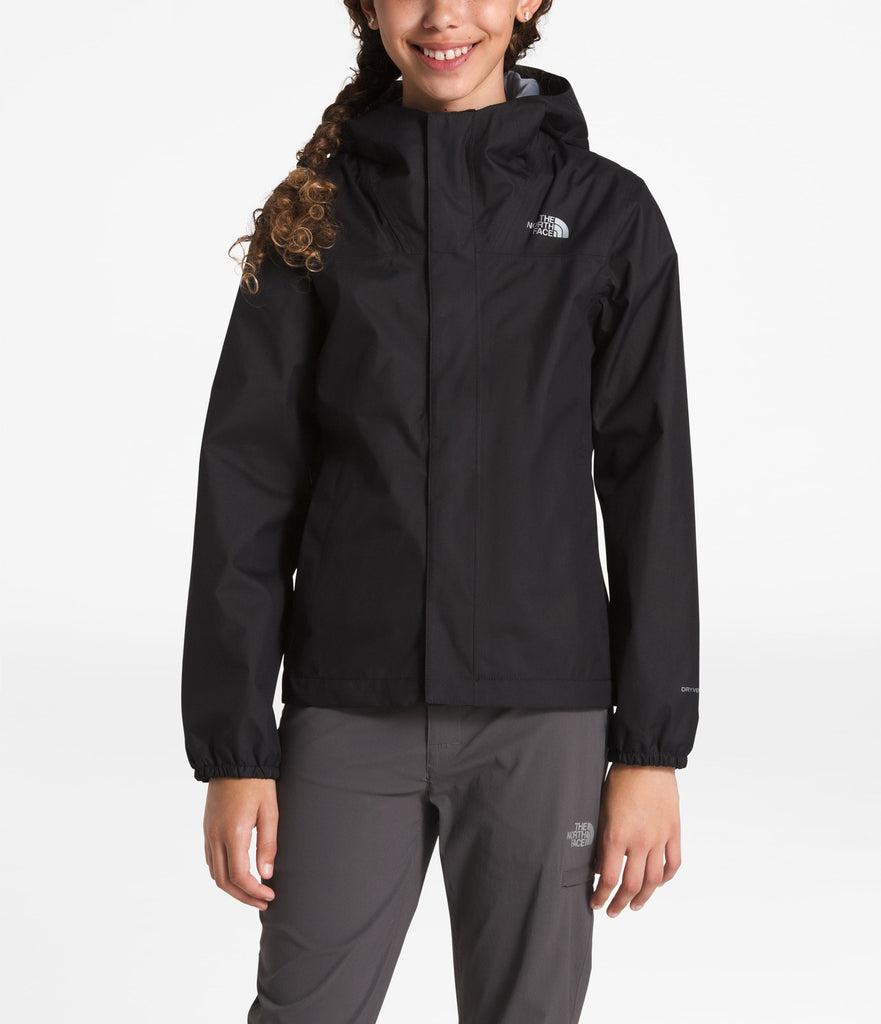 GIRLS' RESOLVE REFLECTIVE JACKET TNF Black