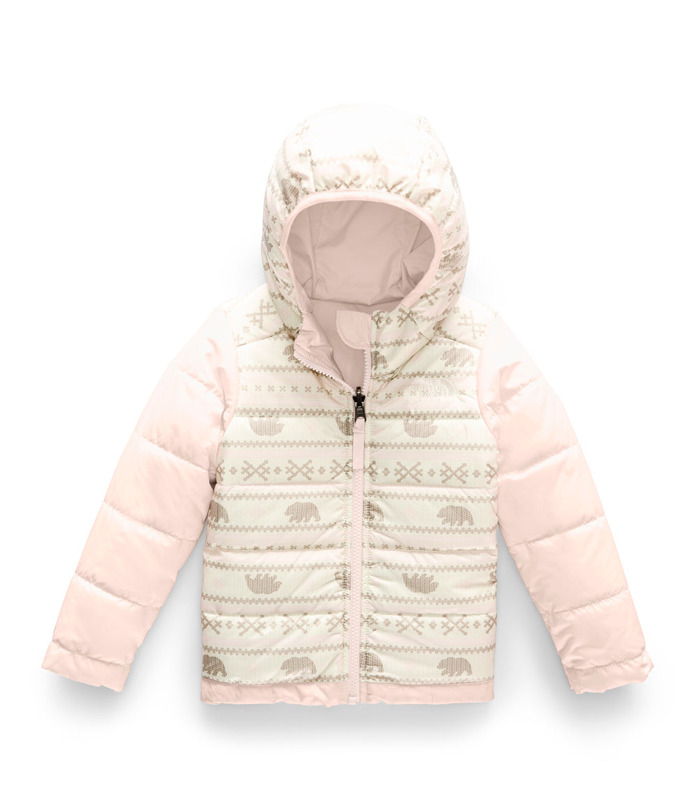 TODDLER GIRLS' REVERSIBLE PERRITO JACKET Purdy Pink