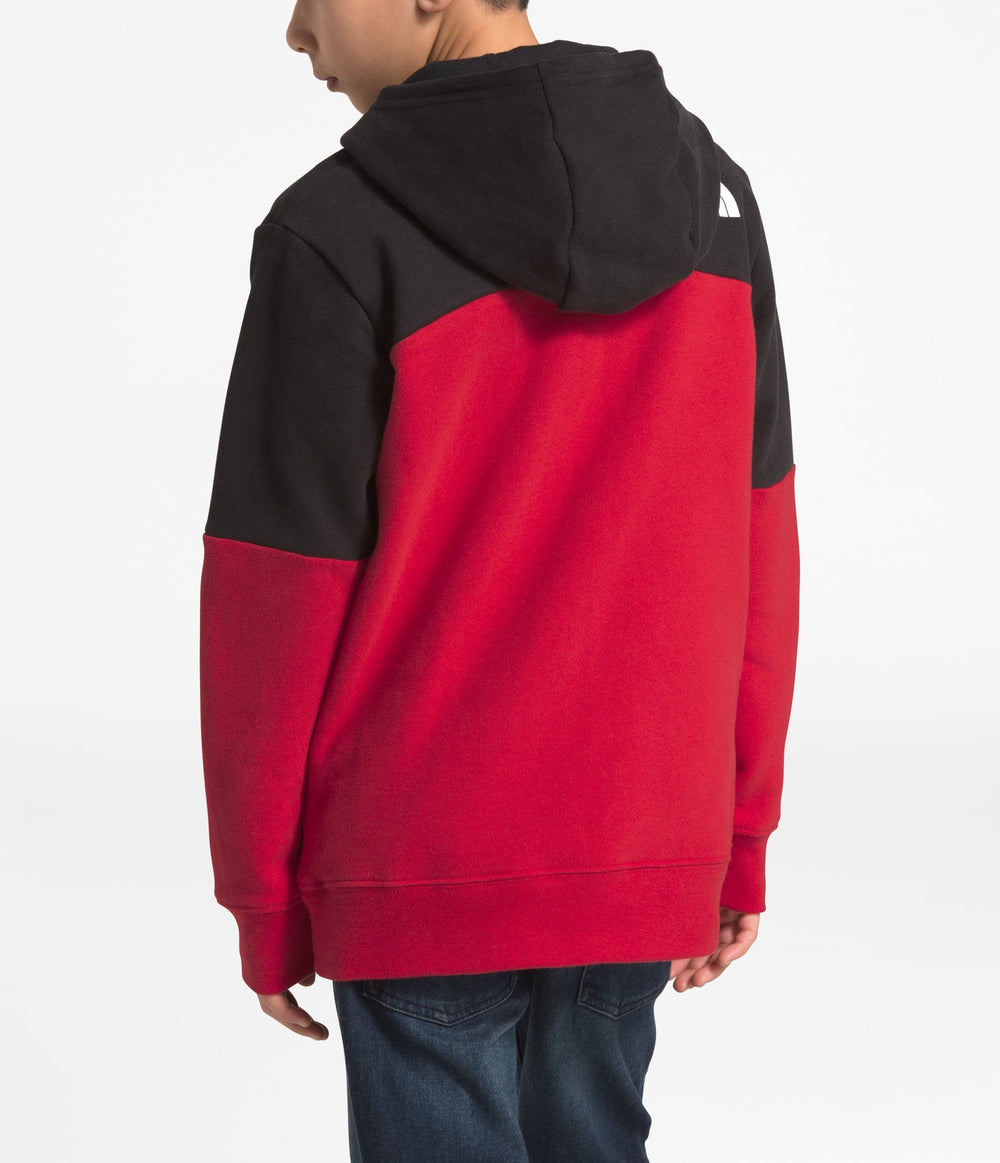 BOYS' METRO LOGO PULLOVER HOODIE TNF Red