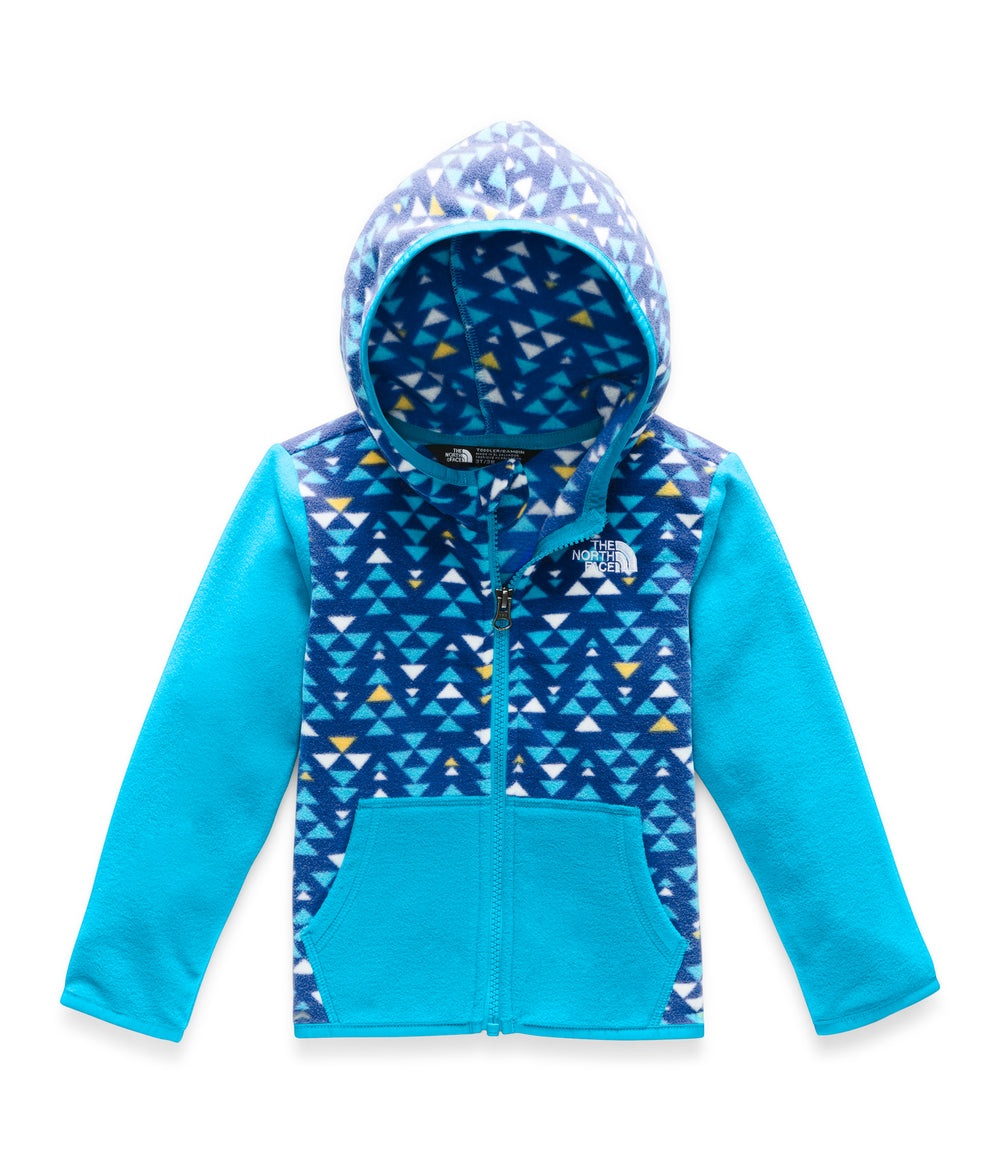 TODDLER GLACIER FULL ZIP HOODIE TNF Blue Mini Aztec Print