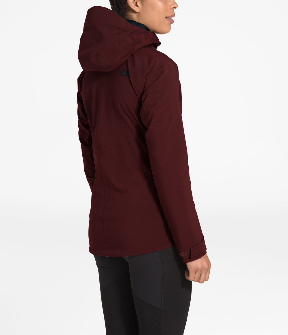 WOMEN'S THERMOBALL TRICLIMATE JACKET Deep Garnet Red