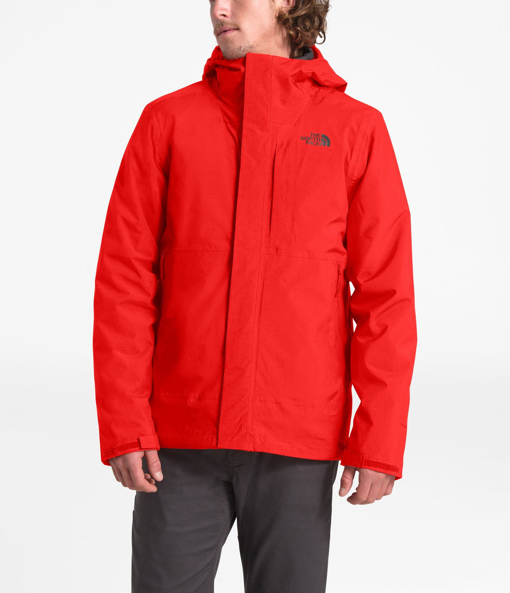 MEN'S CARTO TRICLIMATE JACKET Fiery Red/Asphalt Grey