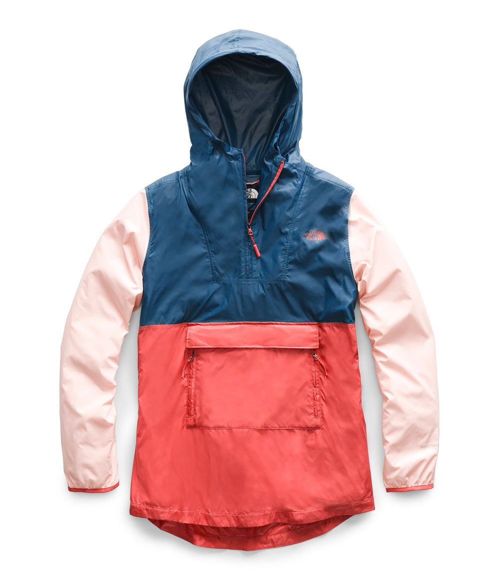 Women's FANORAK 2.0 JACKET Spiced Coral Multi