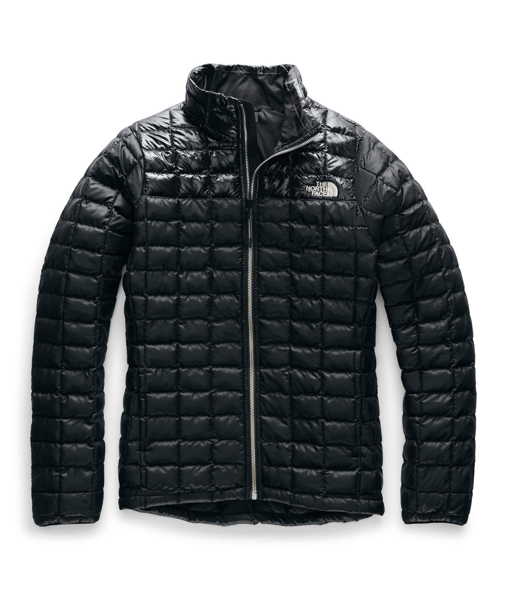 WOMEN'S THERMOBALL ECO JACKET TNF Black Matte Shine
