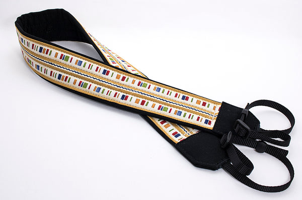 203 Camera Strap Country Stripe - ten8e Camera Straps