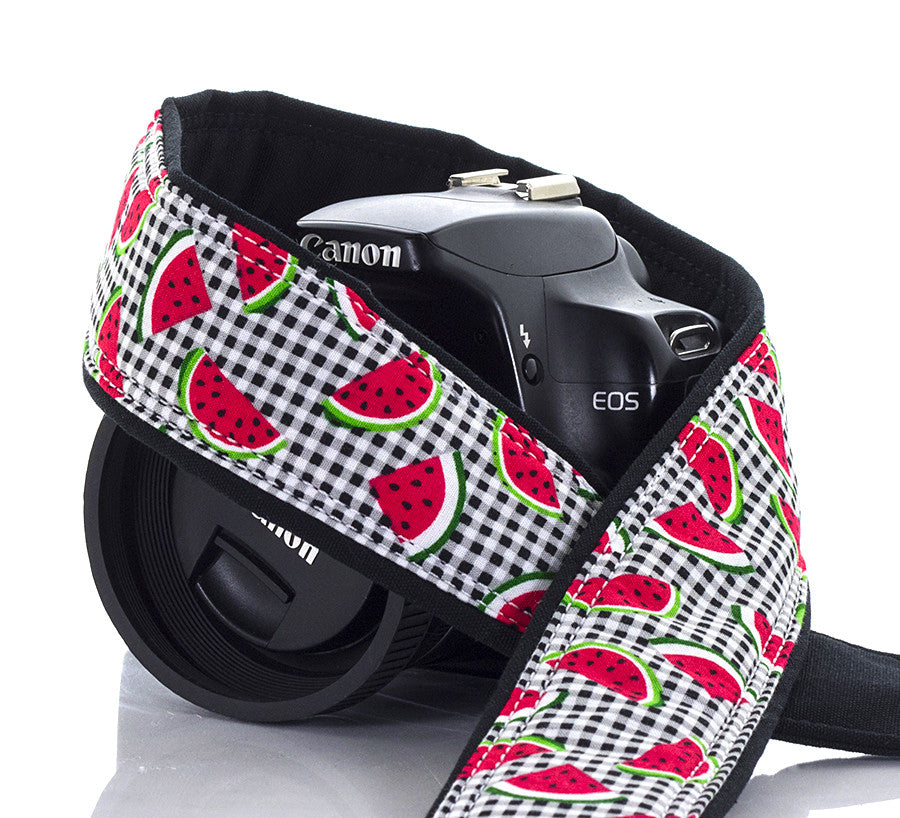Camera Strap Watermelon - ten8e Camera Straps