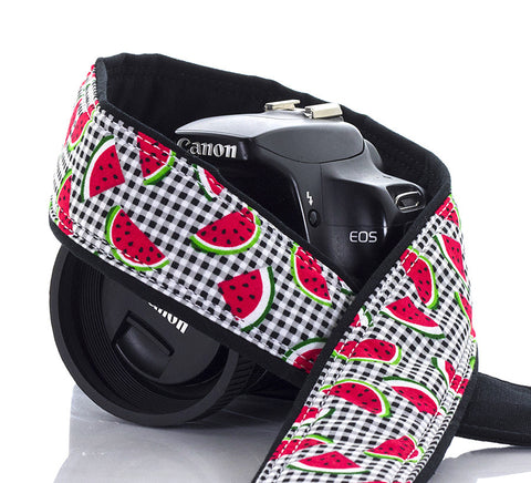 098 Camera Strap Watermelon - ten8e Camera Straps - 1