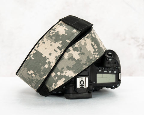 294 Camo Camera Strap Digital Camouflage - ten8e Camera Straps