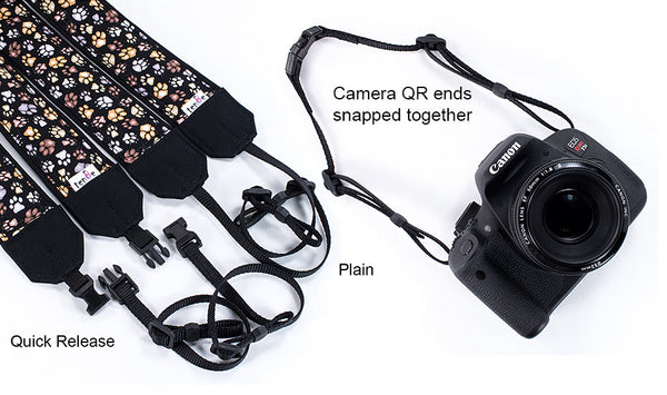 Camera Strap Seashells, dSLR, SLR or Mirrorless - ten8e Camera Straps