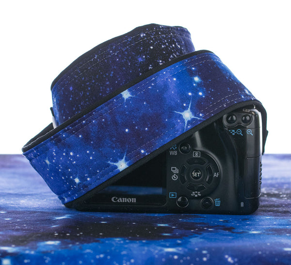 060 Camera Strap Stars Outer Space - ten8e Camera Straps