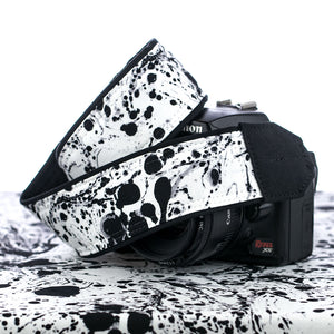 290 Camera Strap Ink Drops - ten8e Camera Straps