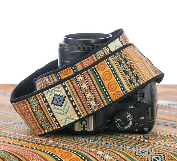 141 Camera Strap Southwestern - ten8e Camera Straps