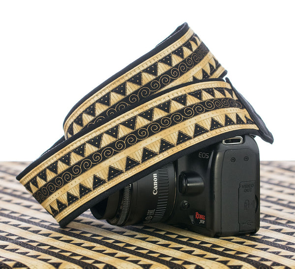 200 Gold Tribal Camera Strap - ten8e Camera Straps