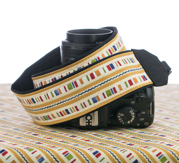 Camera Strap Country Stripe - ten8e Camera Straps
