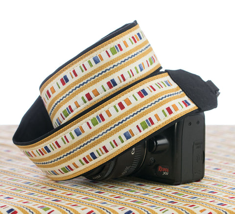 203 Camera Strap Country Stripe