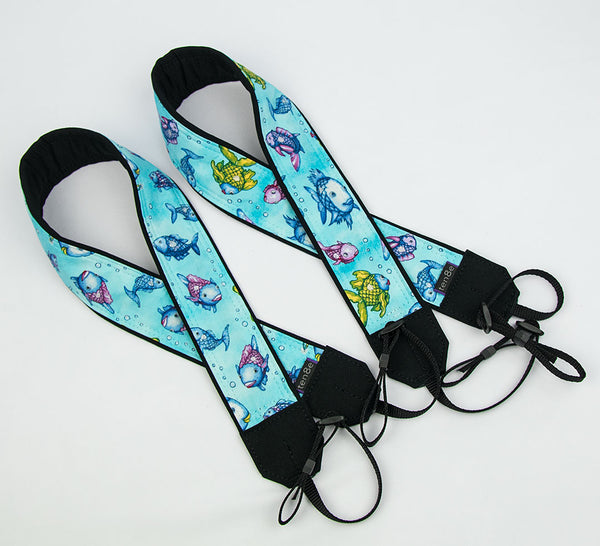Camera Strap Cute Fish - ten8e Camera Straps