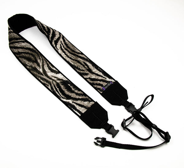 313 Camera Strap White Tiger - ten8e Camera Straps