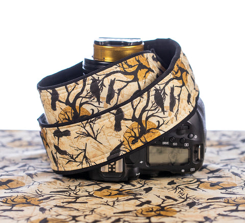 Camera Strap Something Wicked - ten8e Camera Straps