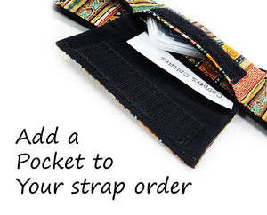 Add a Pocket to your strap - ten8e Camera Straps