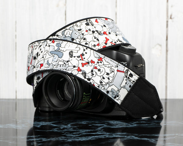 393 Puppies n Dogs Camera Strap - ten8e Camera Straps