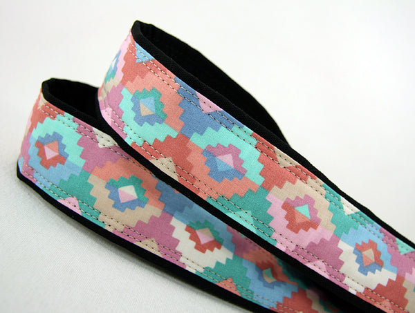 Pastel Southwest Camera Strap - ten8e Camera Straps