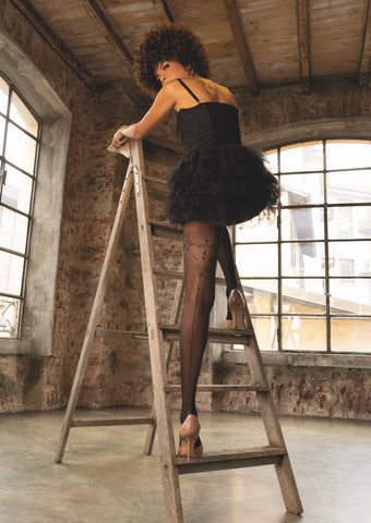 Trasparenze Hope Tights - Black or Nude