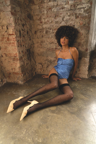 Trasparenze Anguria Hold Ups - Nude or Black