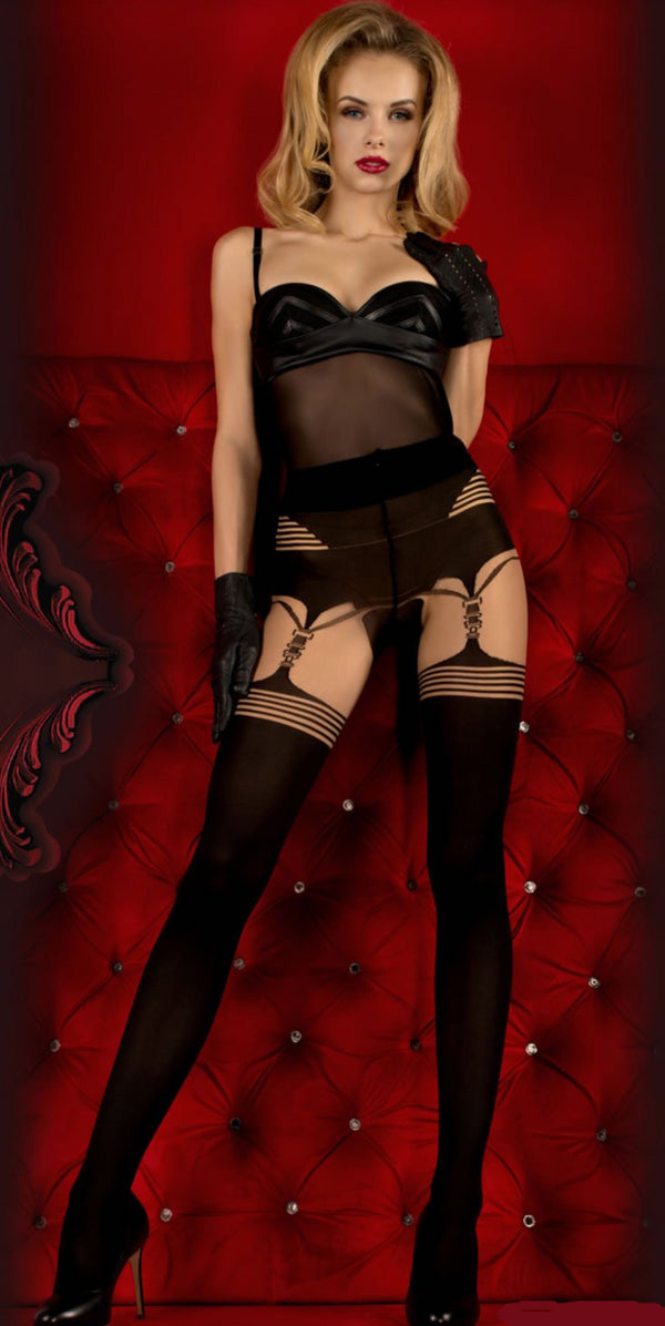 Ballerina 353 Tights Skin / Black