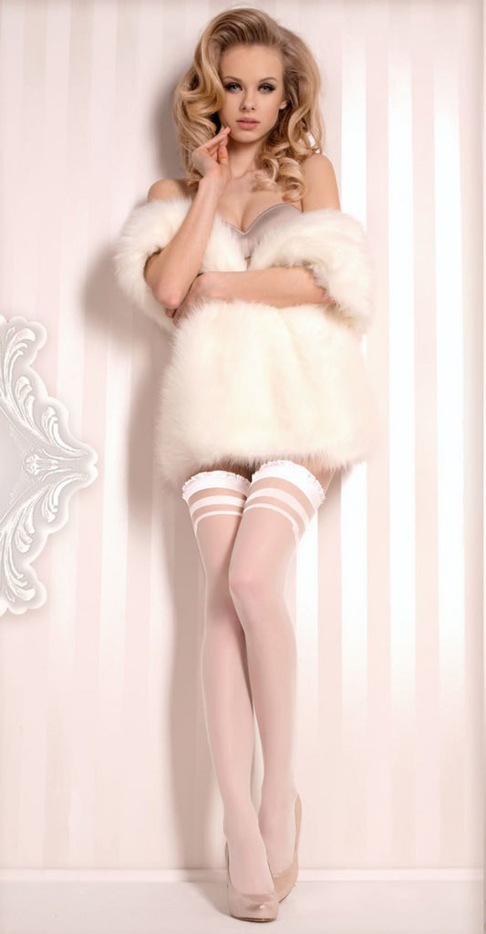 Ballerina 375 Hold Ups White