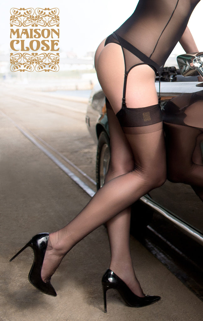 Maison Close Authentique Bas Retro Nylon Stockings