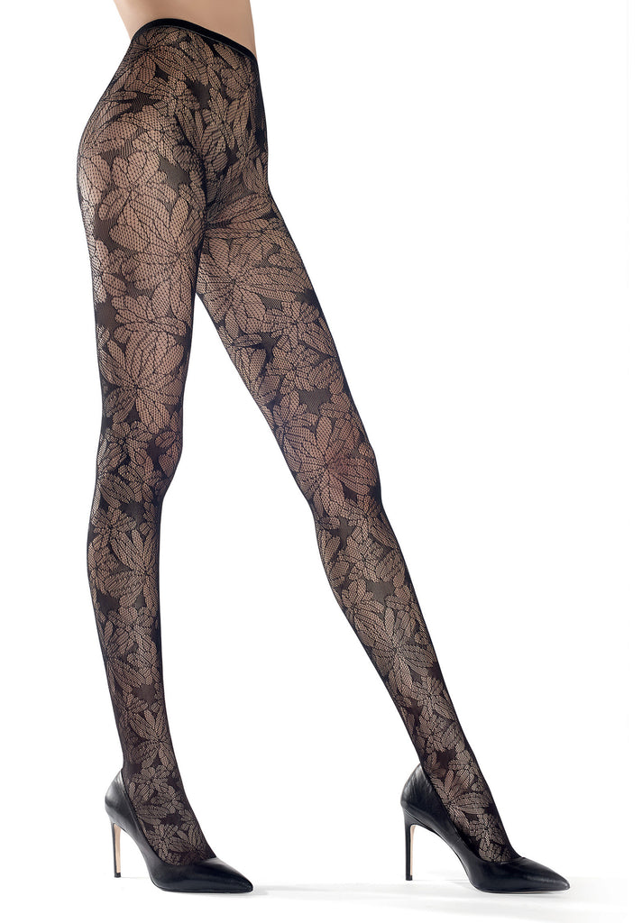 Oroblu Colleen Tights - in Black or Violet