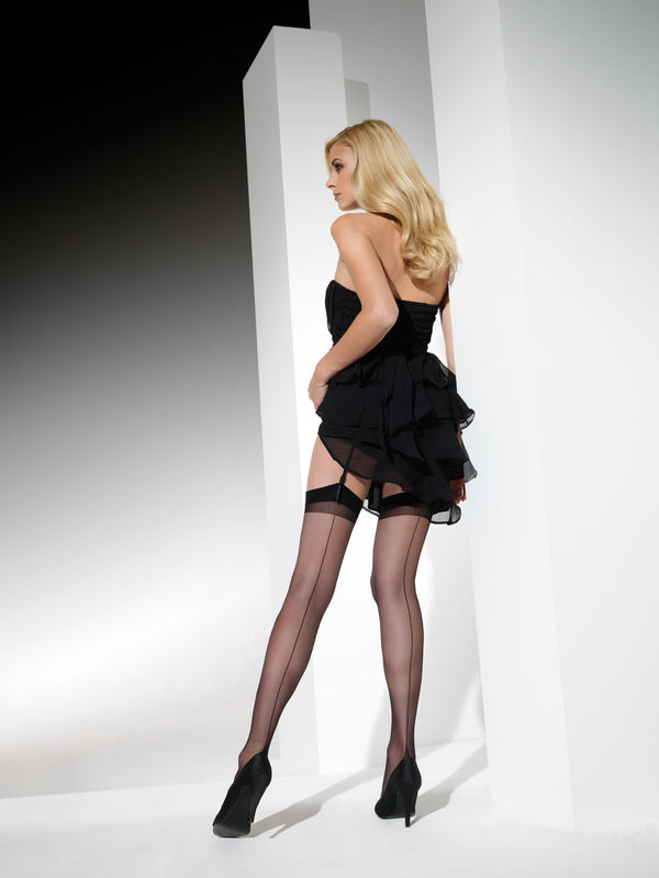 Cette Berlin Stockings available in Black or Nude