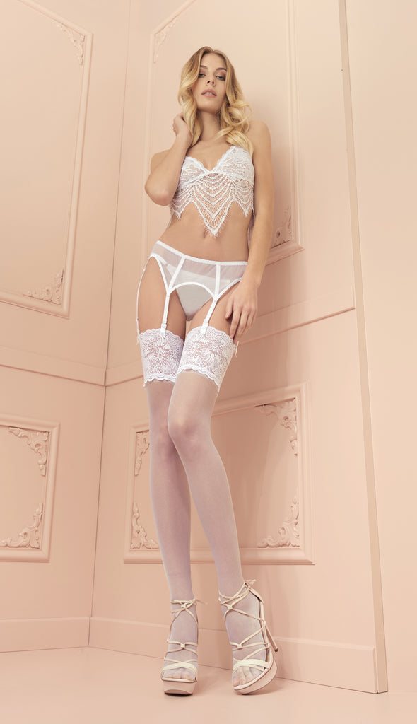 Trasparenze Eleonora Lace Top Stockings