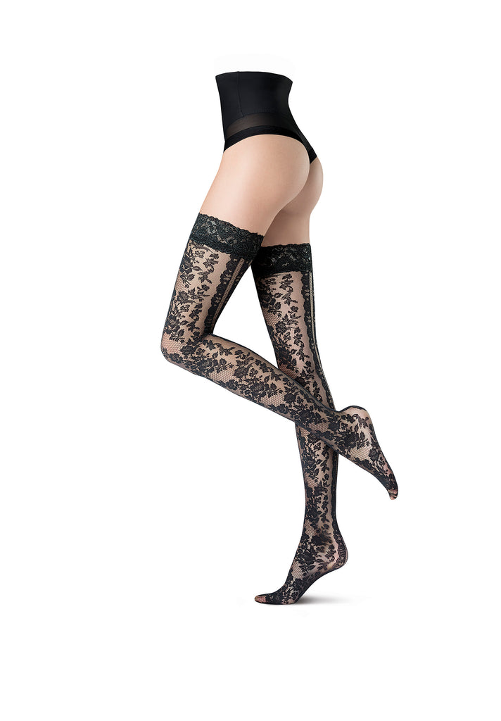 Oroblu Flower Althea Hold Ups