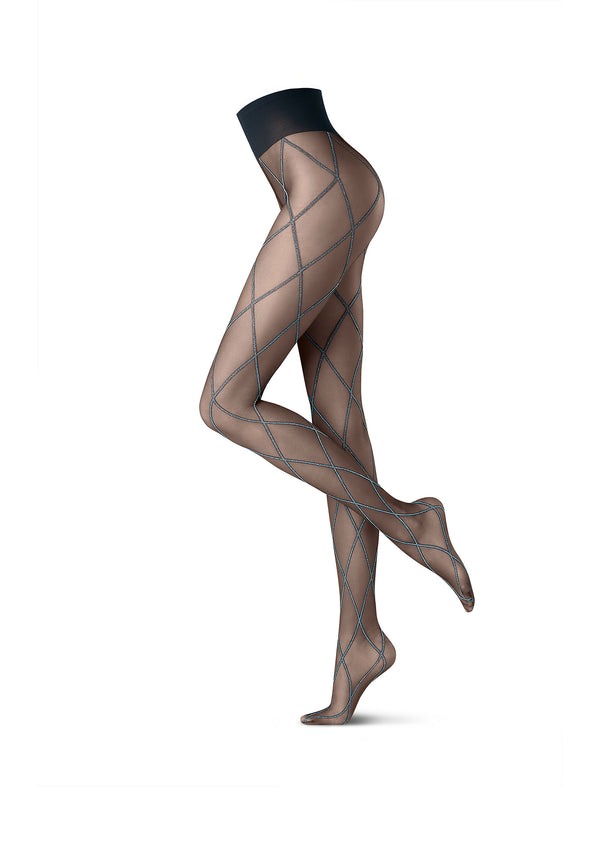 Oroblu Graphic Tights - Cross