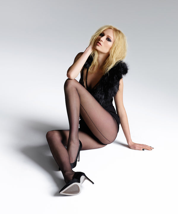 Jonathan Aston - Vintage Back Seam & Heel Tights