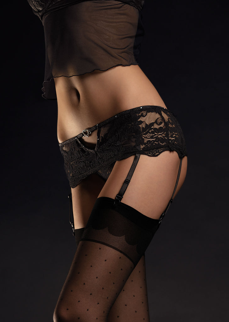 Fiore Lover Suspender belt