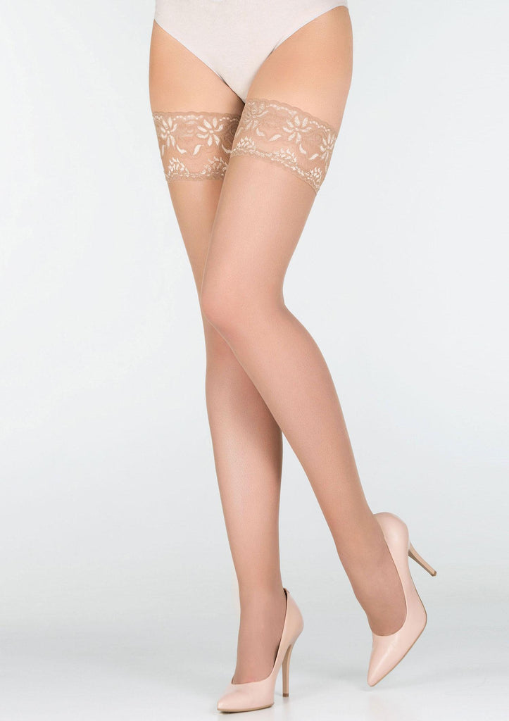 Marilyn Erotic Hold Ups - Beige