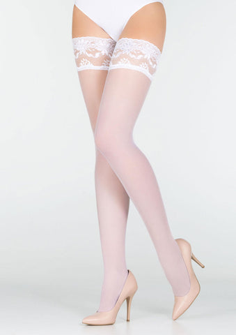 Marilyn Erotic Hold Ups - White