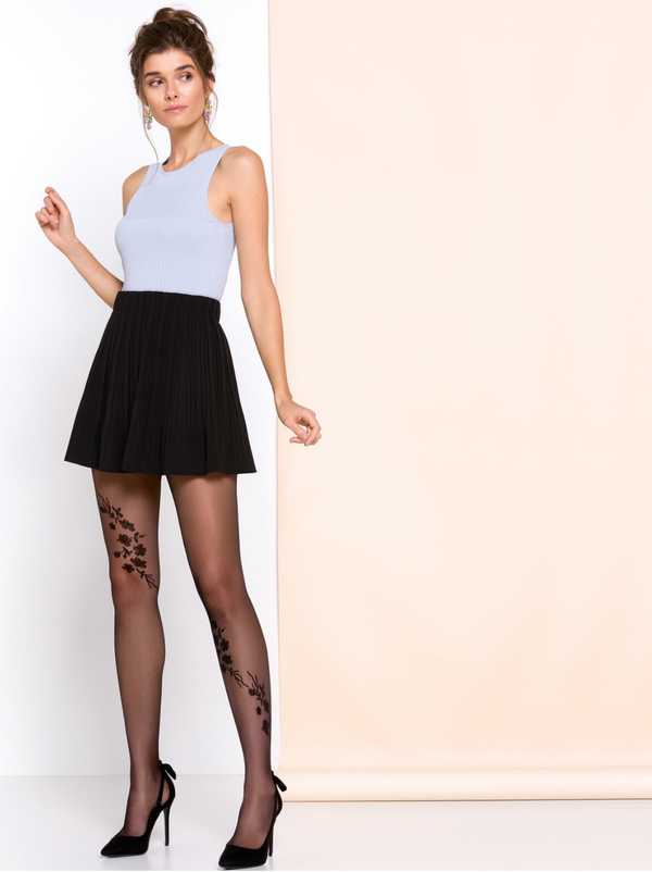 Gabriella Helen Tights - Black
