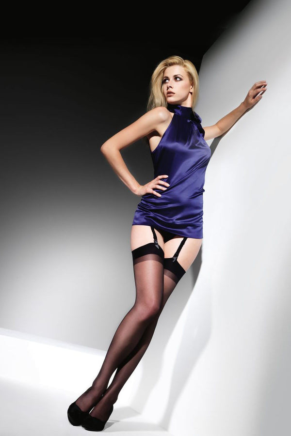CETTE Cristal Stockings - Available in Black or Nude