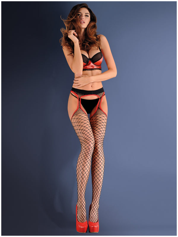 Gabriella Fishnet 153 Strip Panty