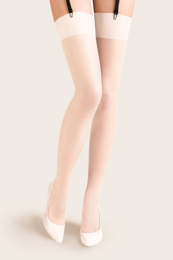 Gabriella Cher Stockings - White